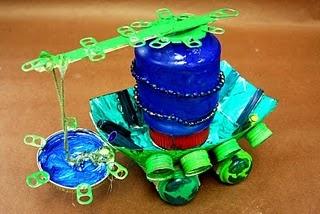 umweltfreundliche Maschinen aus recycelten Materialien   – Making and Tinkering