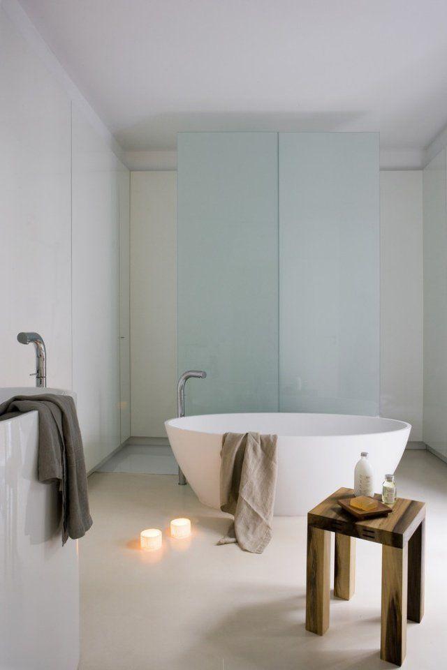 les 25 meilleures idées de la catégorie baignoire ilot pas cher ... - Salle De Bain Baignoire Ilot