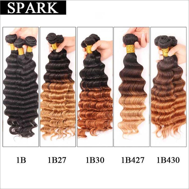 6A Barato Onda Profunda Brasileña Virgin Hair 3 Bundles Brasileña Profunda Rosa Pelo de La Armadura Remy rizado Rizado Pelo Virginal rizado Suave L9