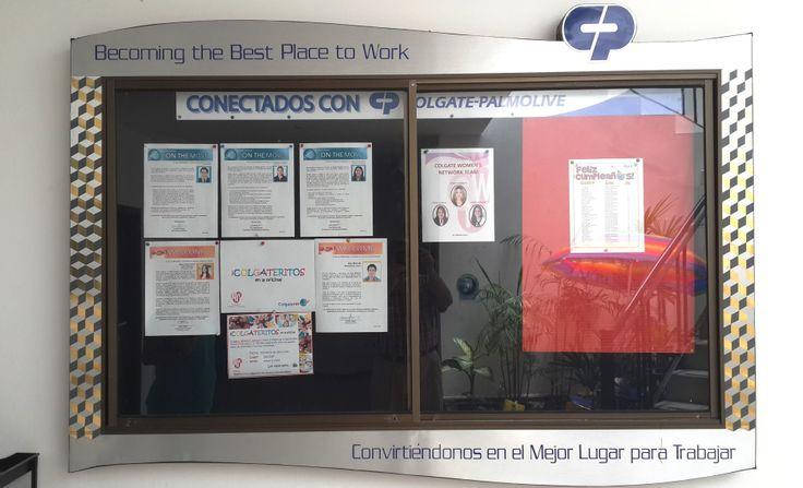 Cartelera informativa CP-Ecuador, ..el mejor lugar para trabajar
