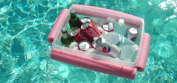 How to Make a Super Cheap Floating Beer & Soda Pool Cooler
