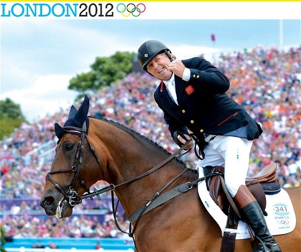 Nick Skelton riding Big Star secures team gold for the British