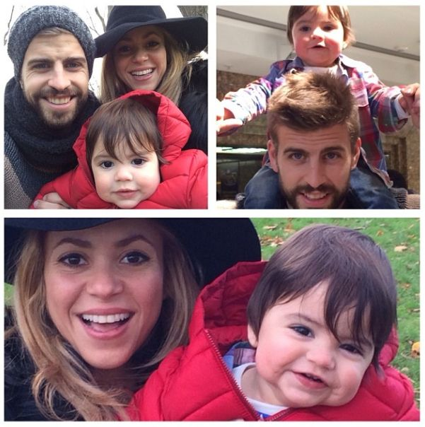 Milan Piqué Mebarak | 70 Celebrity Babies Born In 2013