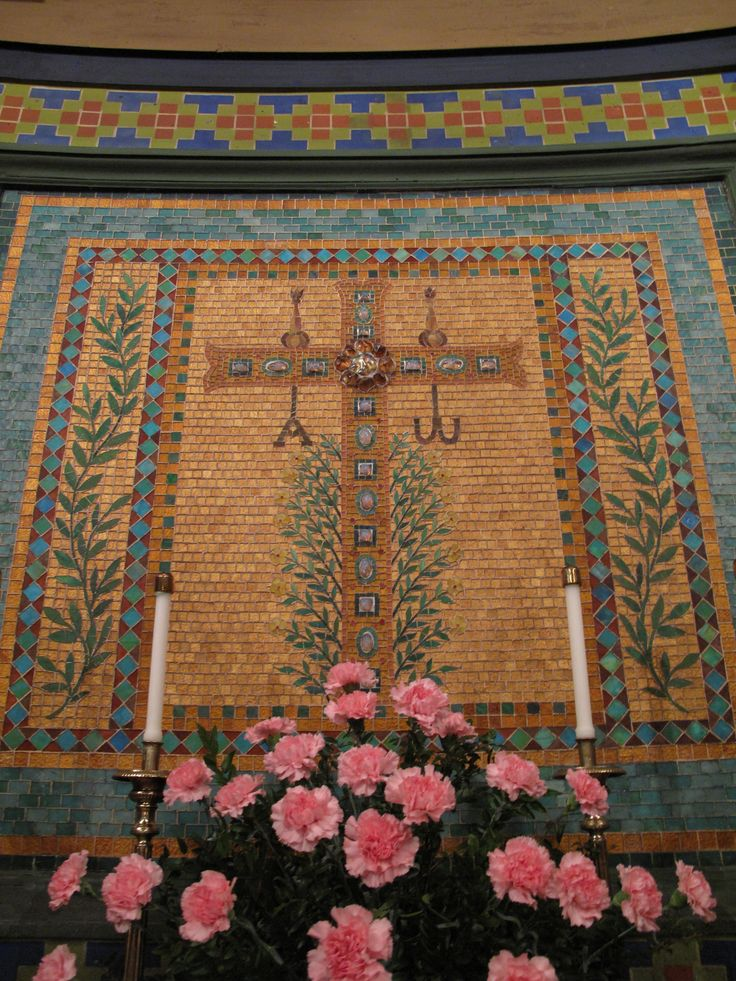 Mosaic at St. Mark's Lutheran Church, Baltimore