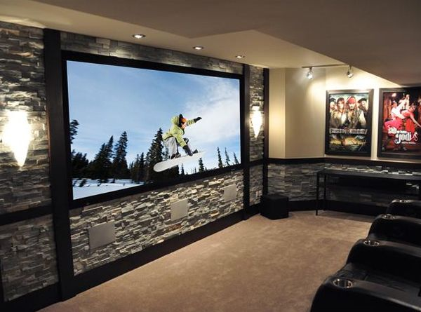 24 Inspiring Home Theater Design : Best Collection From Cedia