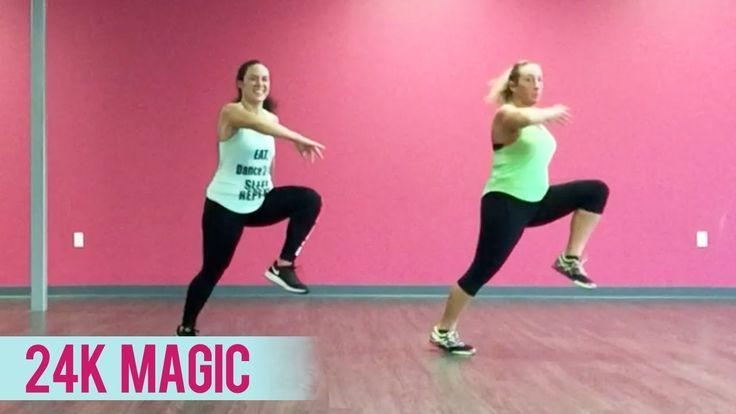 Bruno Mars - 24K Magic (Dance Fitness with Jessica) - YouTube
