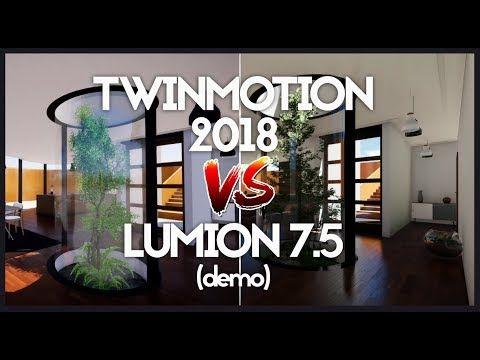 lumion 7 5 (demo) vs Twinmotion 2018 - YouTube   Twinmotion