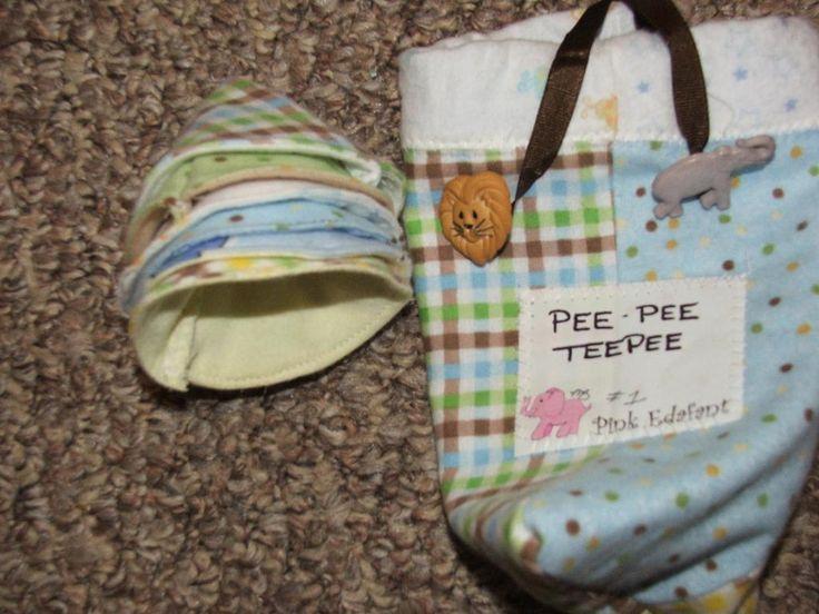 Pee Pee Teepee project on Craftsy.com