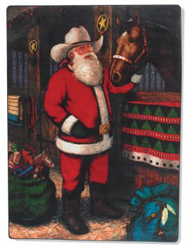 245 Best Cowboy Santas Images On Pinterest Papa Noel