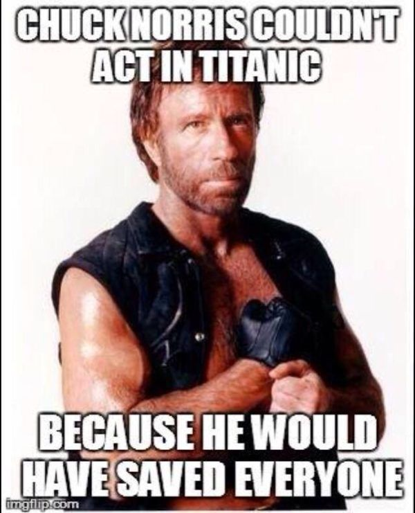 Some say that Chuck Norris memes swept the internet when Chuck Norris was born in 1940, when he invented the internet and the computer.