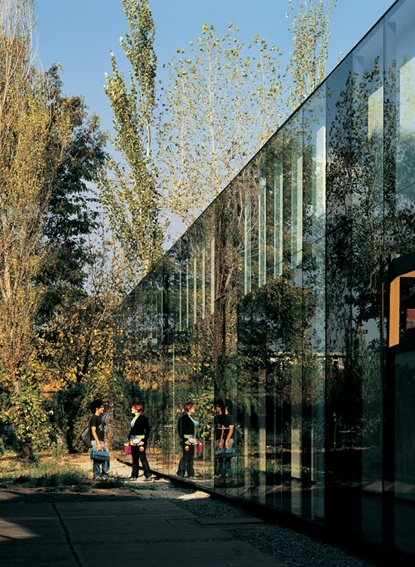 Building renovation and auditorium addition, School of Fine Arts, Universidad de Chile / Emilio Marin + Albert Tidy