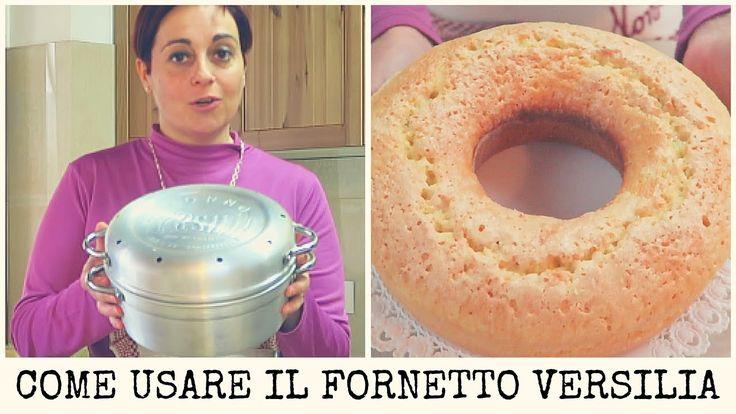 Come cuocere un ciambellone senza forno con la pentola Versilia