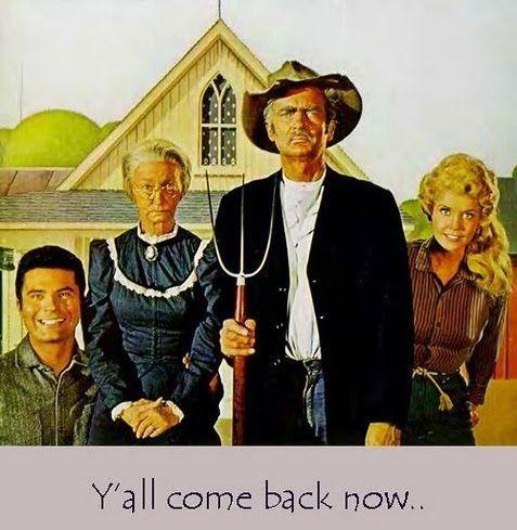 American Gothic Satire-The Beverly Hillbillies