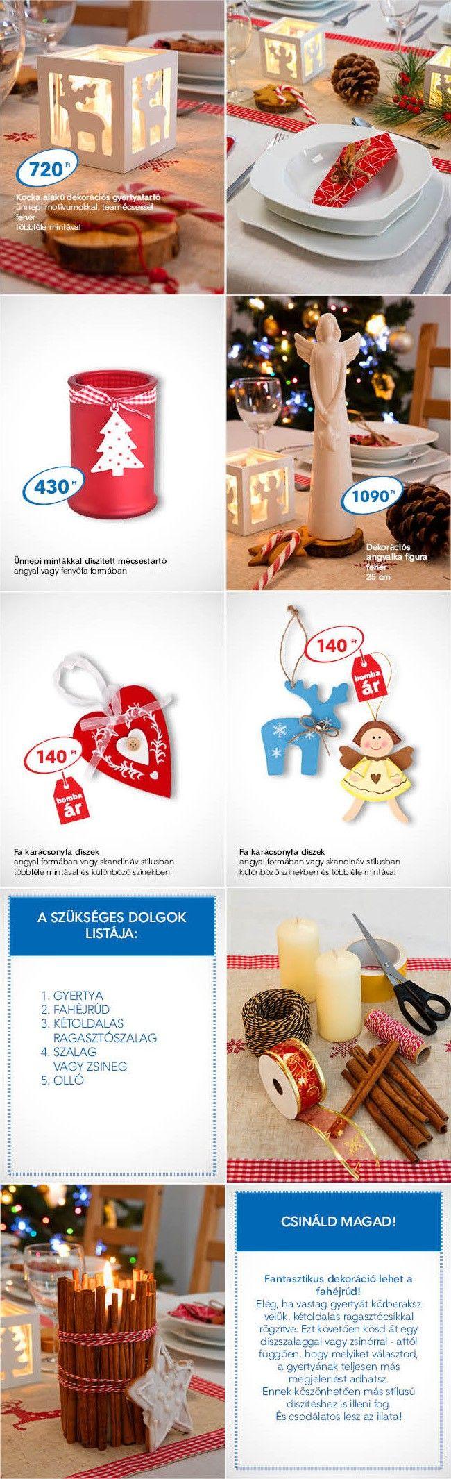 5 ötlet az ünnepi asztal feldíszítéséhez PEPCO árakon - Otthon - Még több inspiráció