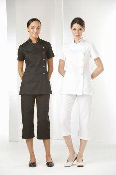 La beeby hair beauty uniforms salon wear spa for Spa housekeeping uniform