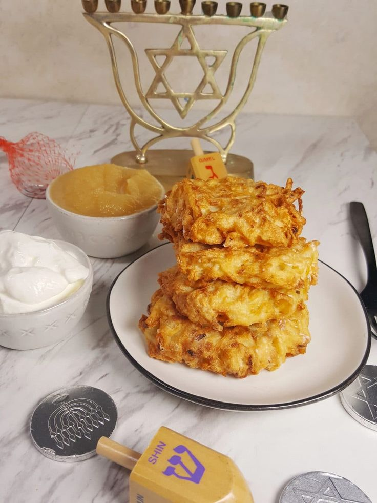 Air Fryer Chanukkah Latkes {Jewish Potato Pancakes} Image