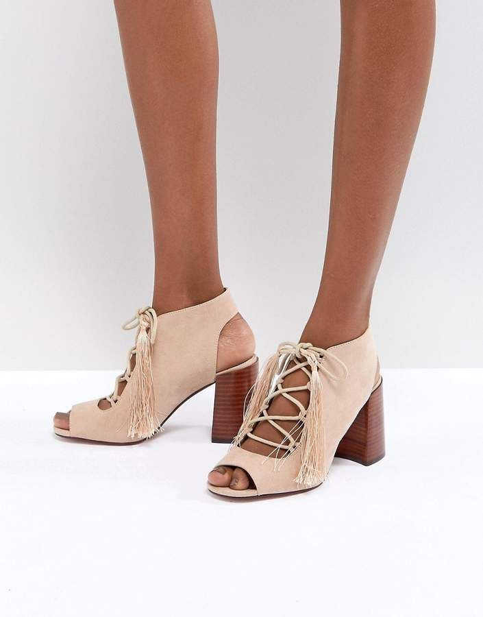 4335cf232223 ASOS TONIC Lace Up Heeled Sandals