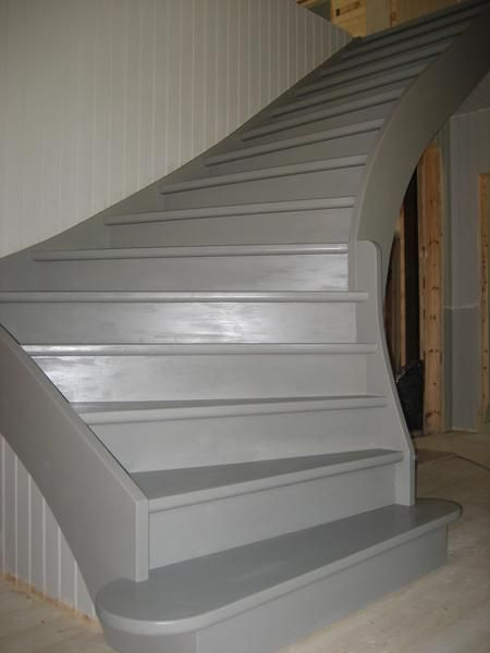 Vår trappa är klar! - Gård och Torp