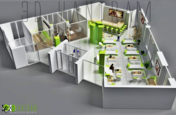 216 best 3d housing plans layouts images on pinterest for Free 3d office planner