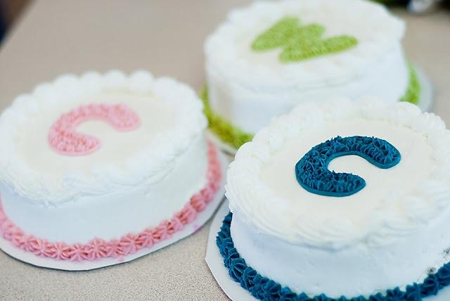 First Birthday Cake.  Cake Smash! blog.bitsofeverything.com