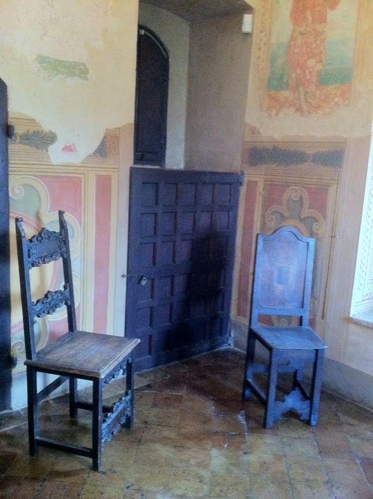 Lucrezia Borgia's dressing room in Gradara Castle, Italy - Lucrezia Borgi (18 April 1480 – 24 June 1519) was the daughter of Pope Alexander VI and Vannozza dei Cattanei.