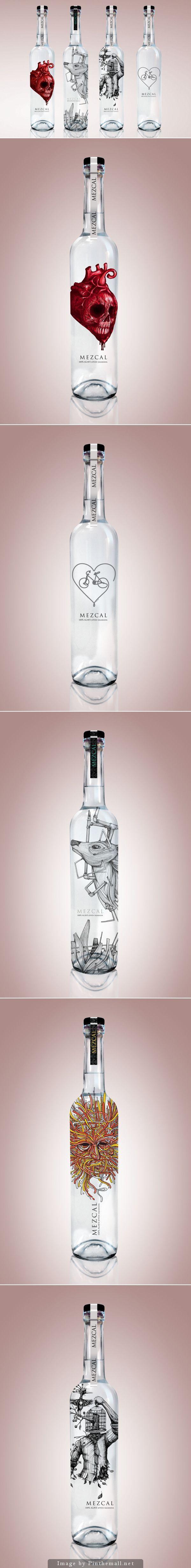 Mezcal Packaging on Behance   Fivestar Branding – Design and Branding Agency & Inspiration Gallery