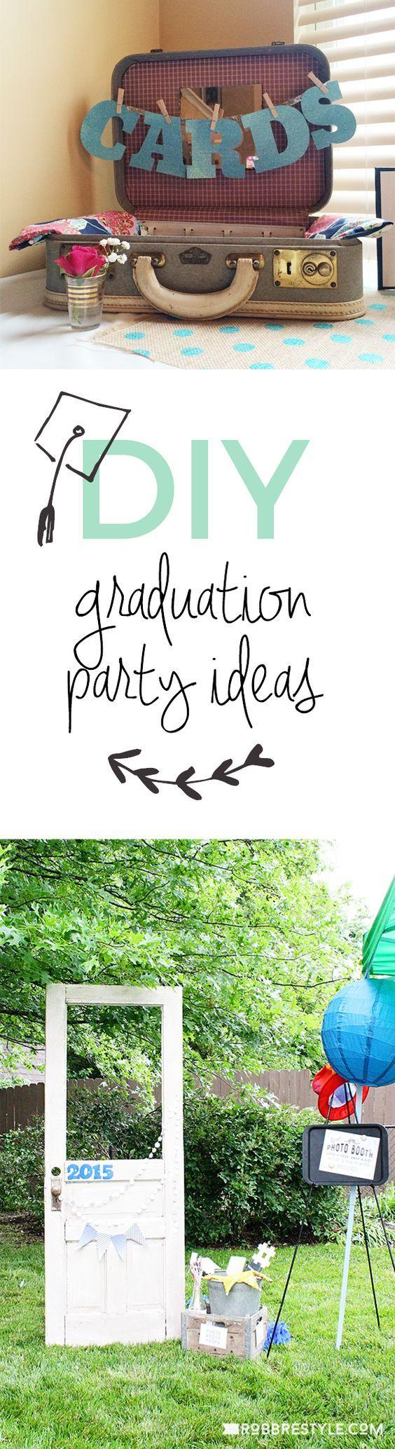 DIY Graduation Party Ideas 134 best Ideas