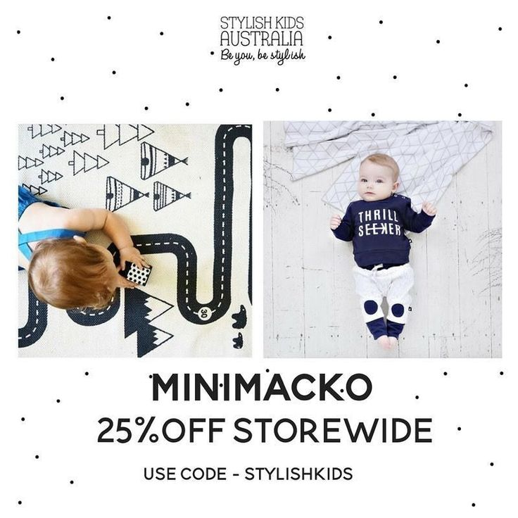 25% Off This weekend! Code: STYLISHKIDS Check out the other amazing stores taking place in this months pop-up @stylishkids_popupstore