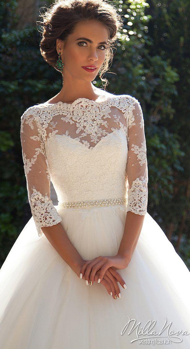 Winter Wedding Dress by Milla Nova 2016 Bridal Collection – Krista