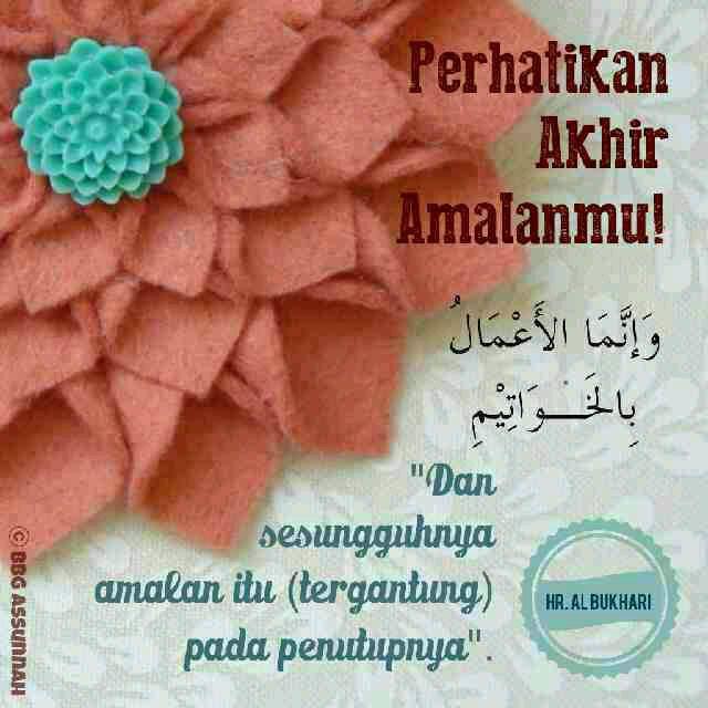 BBG As-Sunnah : Istiqomah