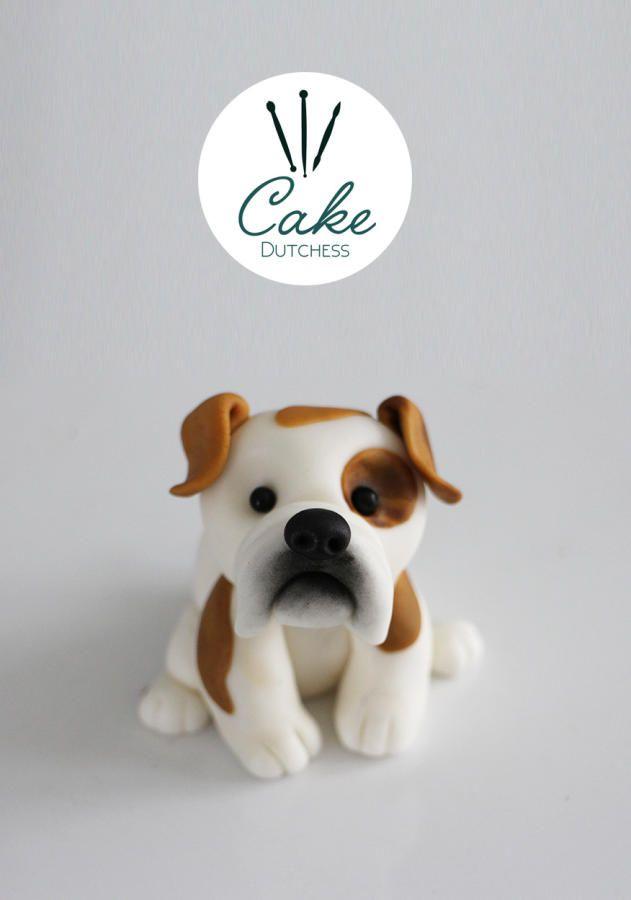 English Bulldog - Cake Topper - Cake by Etty