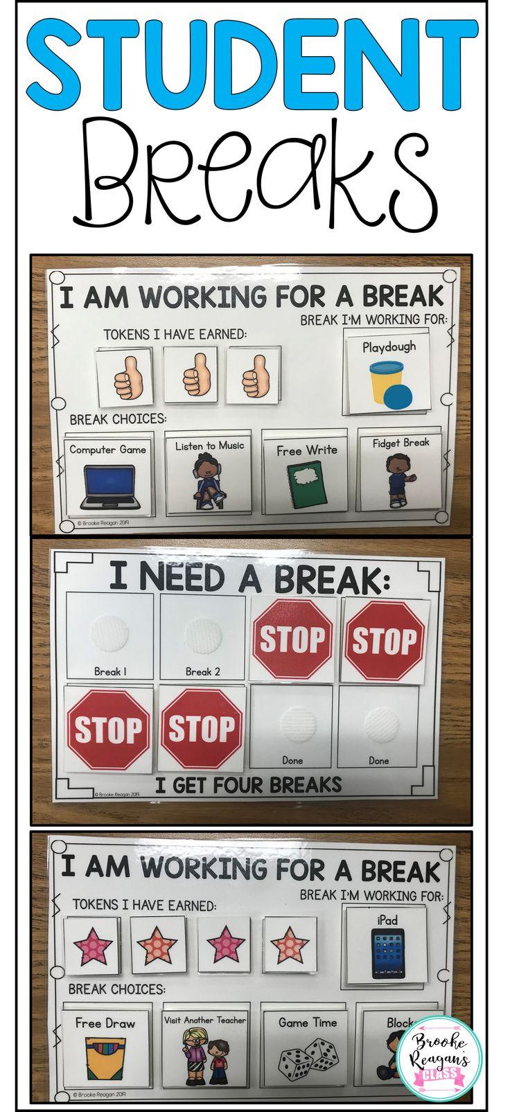 Behavior Intervention- Student Breaks