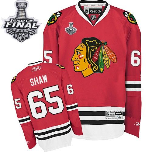 reebok edge chicago blackhawks andrew shaw red authentic with stanley cup finals jersey