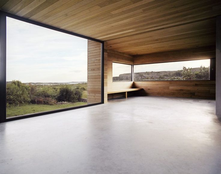 Floor-to-ceiling windows with full potential to highlight great views – Architektur