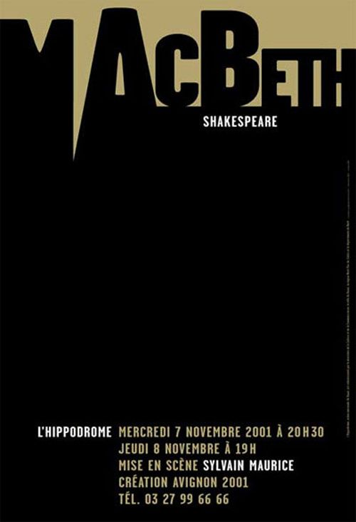 MacBeth | Designer: Catherine Zask | 2001