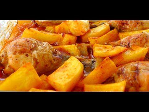 Fırında Soslu Tavuk Patates Tarifi-Çok Kolay Ve Lezzetli Bir Yemek-Tavuklu Tarifler-Gurbetinmutfagi - YouTube