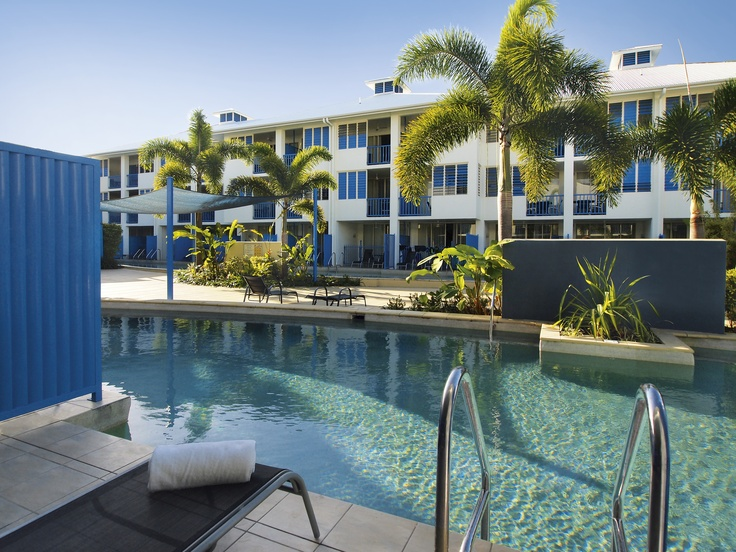 Oaks Lagoons, Port Douglas -  Hotel Swimout Rooms with access to walk into the pool! awesome!