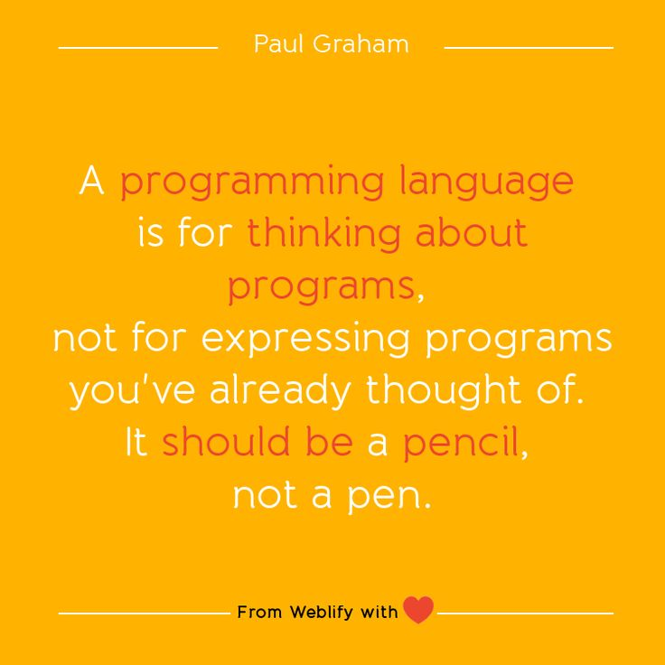 Inspiring coding quotes: Paul Graham