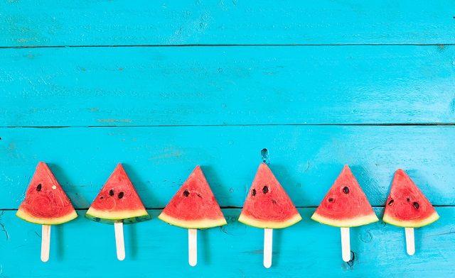 bigstock The Summer Watermelon Slice Po 184314670