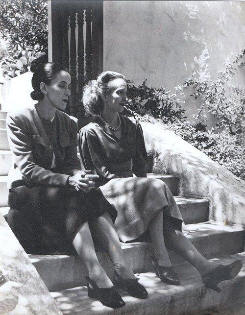 Martha Graham and Doris Humphrey at Mills College, Oakland, California, 1939