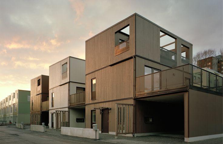Kjellander Sjöberg architects - Fittja Terraces - View from Värdhusvägen