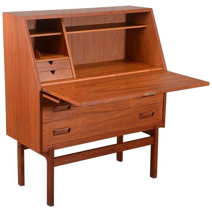 Amish Computer Secretary Desk Armoire Modesto Solid Wood: Best 25+ Secretary Desk With Hutch Ideas On Pinterest