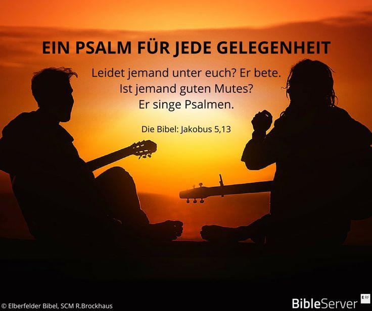 Bibelvers nachzulesen in der Bibel auf #BibleServer | Jakobus 5,13