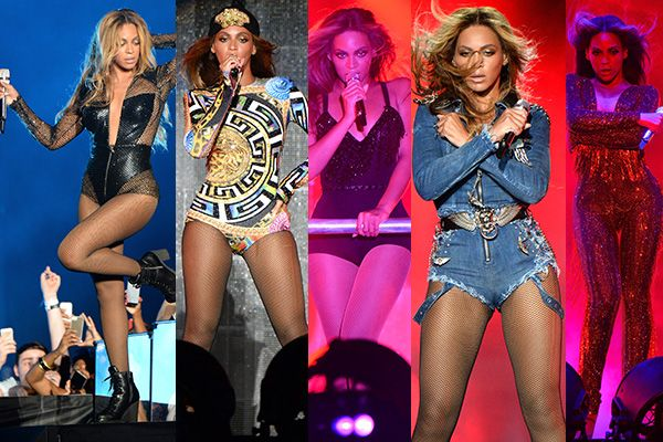 Beyonce Goes (Pretty Much) Pantsless, Shows Off PERFECT Summer Legs for the On The Run Tour | Get like Bey. #SELFmagazine