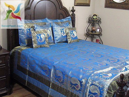 Peacock Bedroom | Peacock Bedroom Set Blue