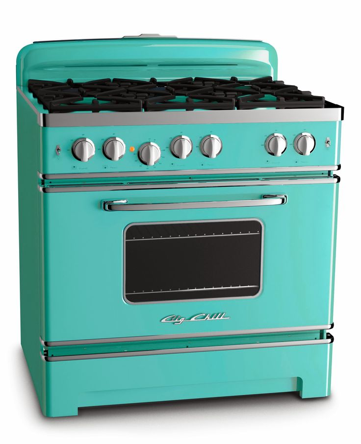 BigChill Retro Turquoise Stove 36 What A Chill Color