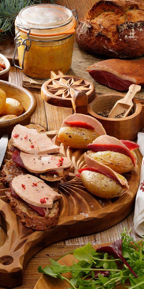 Les montagnardes pommes de terre Foie Gras, Magret