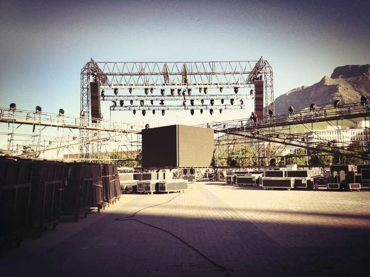 NYE Party 2013  #CapeTown #GrandParade #LEDScreen #StageCo #Gearhouse