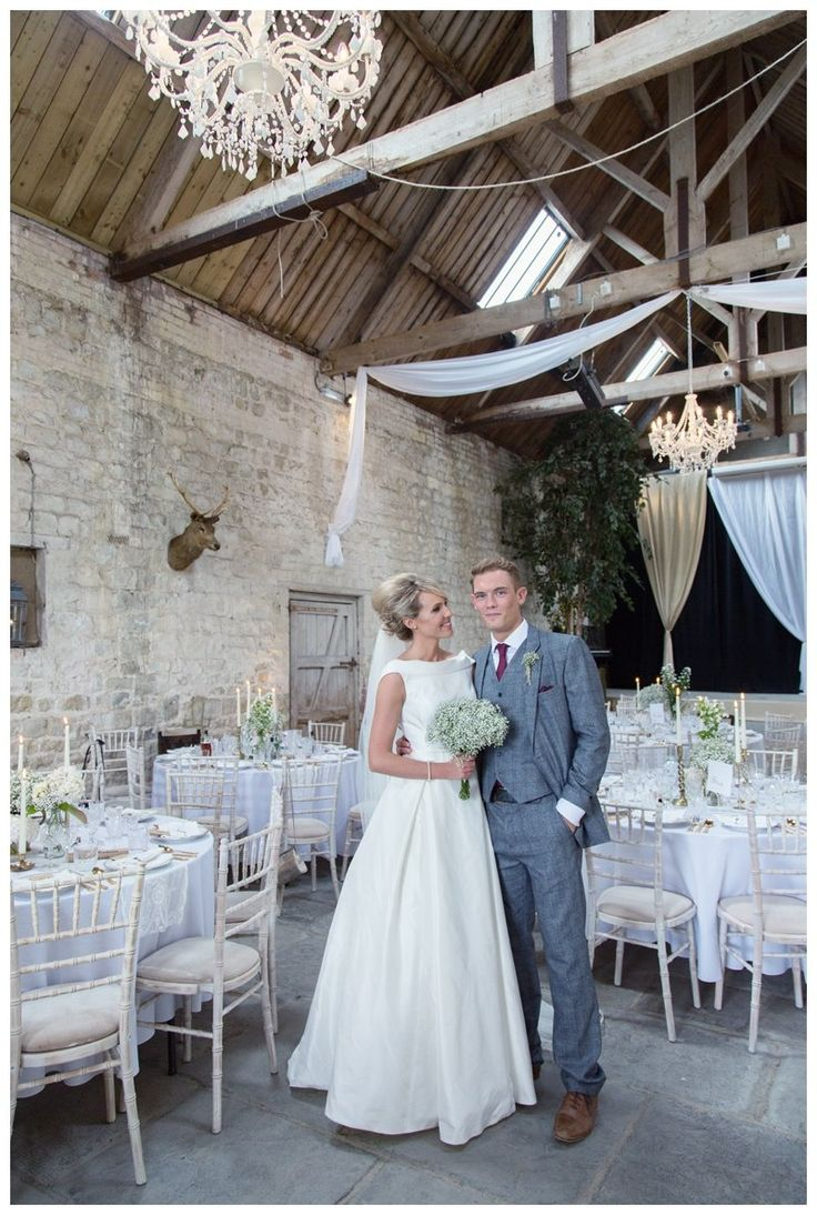 Our white chandeliers #barnwedding