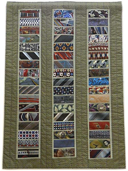 Nancy's Daddy's Ties, Northern Star Quilters Guild